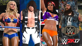 WWE 2K17 Creations: 7 NEW Updated Attires From Elimination Chamber 2017