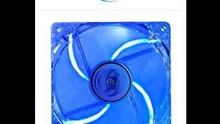 DEEP COOL Case Fan 120 Red/Blue Hydro Bearing – 12 cm