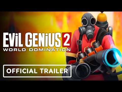Evil Genius 2: World Domination - Official Rise of the Valkyrie & Team Fortress 2: Pyro Pack Trailer