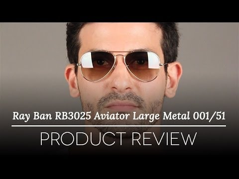 Ray-Ban RB3025 Aviator Large Metal Sunglasses Review