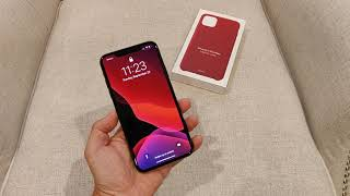 iPhone 11 Pro Max Leather Case Unboxing
