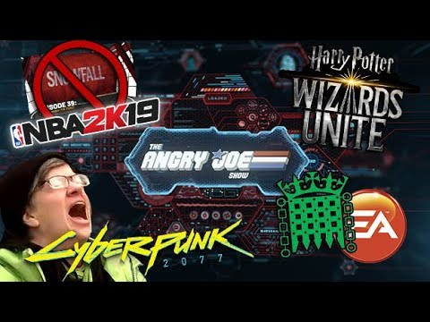 AJS News - UNSKIPPABLE Ads in NBA 2K19, Cyberpunk Under SJW Attack & EA's Surprise Mechanics!
