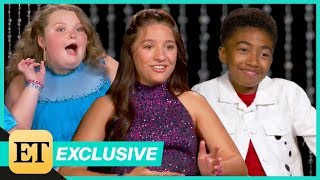 Watch the DWTS Pros Interview the Cast of DWTS: Juniors (Exclusive)