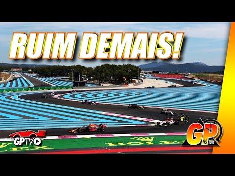 Paul Ricard apresenta espetáculo nada atraente na previsível F1 2019 | GP às 10