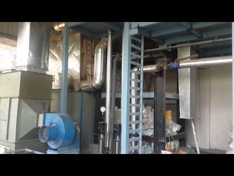 Solid Fuel Fired 10 TPH Water Wall Membrane Panel Steam Boiler