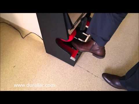 Ayakkabı Fırçalama Makinası, Ayakkabı Altı ve Üstü Fırçalama Özellikli Acm-107
