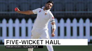 Red Hot Imran Khan Destroys Australia A