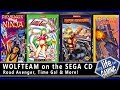 Wolf Team on the Sega CD Road Avenger Time Gal More MY LIFE IN GAMING