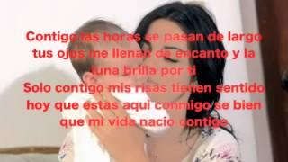 Maite Perroni - Contigo (Audio) (Letra)