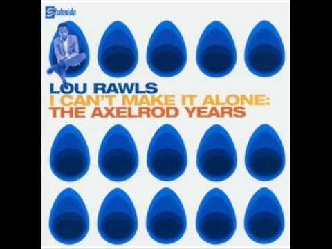 Lou Rawls - Take Me For What I Am
