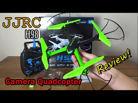 JJRC H98 Review and Flight
