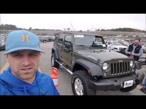 How Much Is A Jeep Wrangler At A Dealer Only Auction ? Mp3