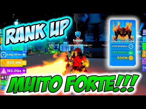 ROBLOX  Ninja Legends 2  NOVO RANK Muito FORTE