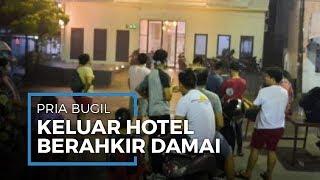 Kasus Viral Pria Bugil Kabur dari Hotel Diancam Waria Berakhir Damai