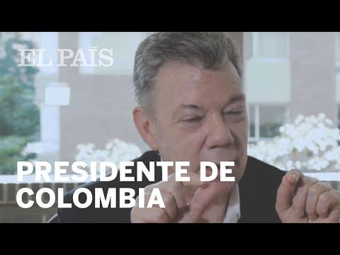 Entrevista a juan Manuel Santos