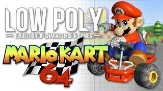 Mario Kart 64 As Youve Never Seen It Before - Low Poly - Episode 6