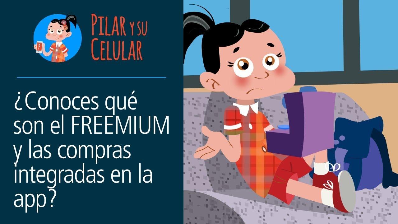 """Videojuegos """"gratuitos"""" ¿Conoces qué son el FREEMIUM y las compras integradas? (Pilar y su celular)"""