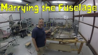 RV-10 Fuselage - Marrying the front and back of the fuselage!
