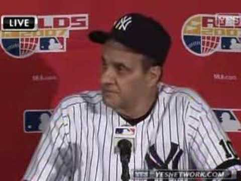 Joe Torre Interview 10/08/07