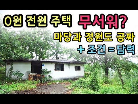 [S모티브] 청소비 30만원 집세 0원 전원주택! 정말 살아볼까?