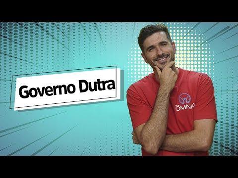 Governo Gaspar Dutra - Brasil Escola