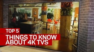 Top 5 things you should know about 4K TVs (CNET Top 5)