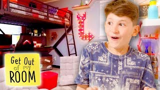 TEENS REACT TO DREAM BEDROOMS   Get Out Of My Room   Universal Kids