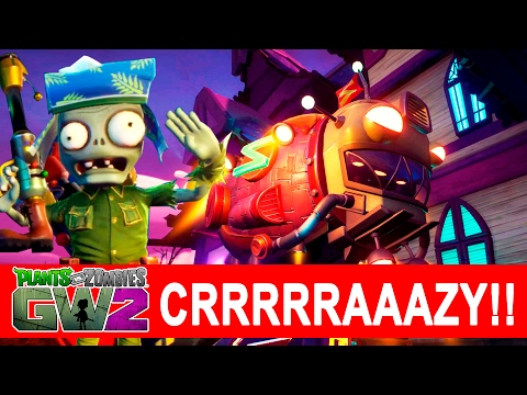 Plants vs Zombies GW2 How to complete Crazy mode Garden ops