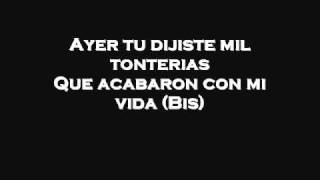 Juanes  La paga (with lyrics)