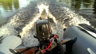 Летние тесты лодок с надувным дном НДНД - Хантер 290 А