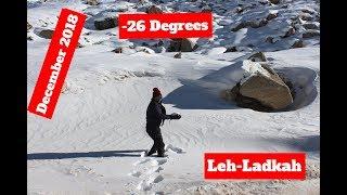 Leh-Ladakh in December 2018