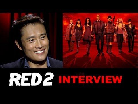 Video trailer för Byung Hun Lee Interview 2013 - Red 2 : Beyond The Trailer