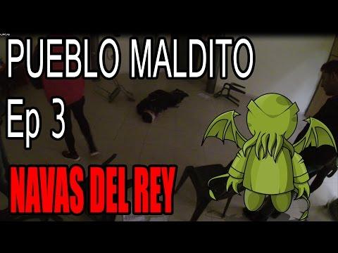 PUEBLO MALDITO | Ep. 3 | Navas del Rey (Madrid) | UN SACRIFICIO DE HALLOWEEN!!