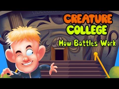 Creature College Battle Round Walkthrough