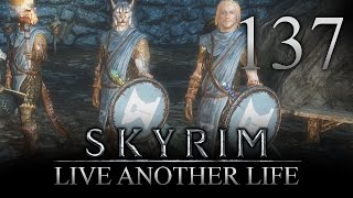HELGEN GUARD! - Skyrim: Live Another Life Let's Play 137 (PC) (Mods)