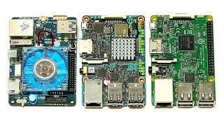 ODROID-XU4 vs Tinker Board & Raspberry Pi 3