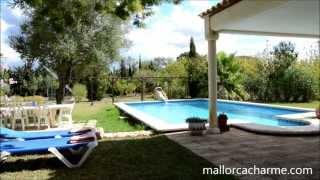 preview picture of video '049 Campanet Mallorca Finca mieten'