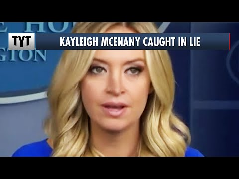 Kayleigh McEnany Gets Caught In LIE