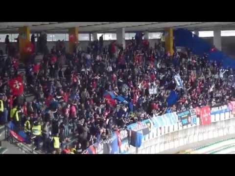 Hellas Verona - Pisa: Tifo Ultras Pisa.
