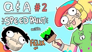 Q&A Speed Paint #2 with Felix: Gothi tshirt