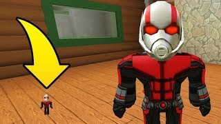 ANTMAN PLAYS FLEE THE FACILITY! (Roblox Flee The Facility)