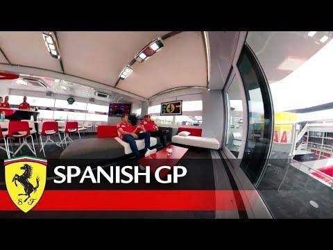 """Conheça a """"casa"""" da Ferrari no GP de Espanha em F1"""