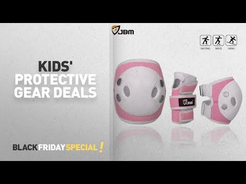 Min 30% Off - Kids' Protective Gear Deals // Amazon Black Friday Countdown