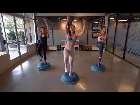 At-Home Workout Motivation with the BOSU® Balance Trainer | On Beat Fitness