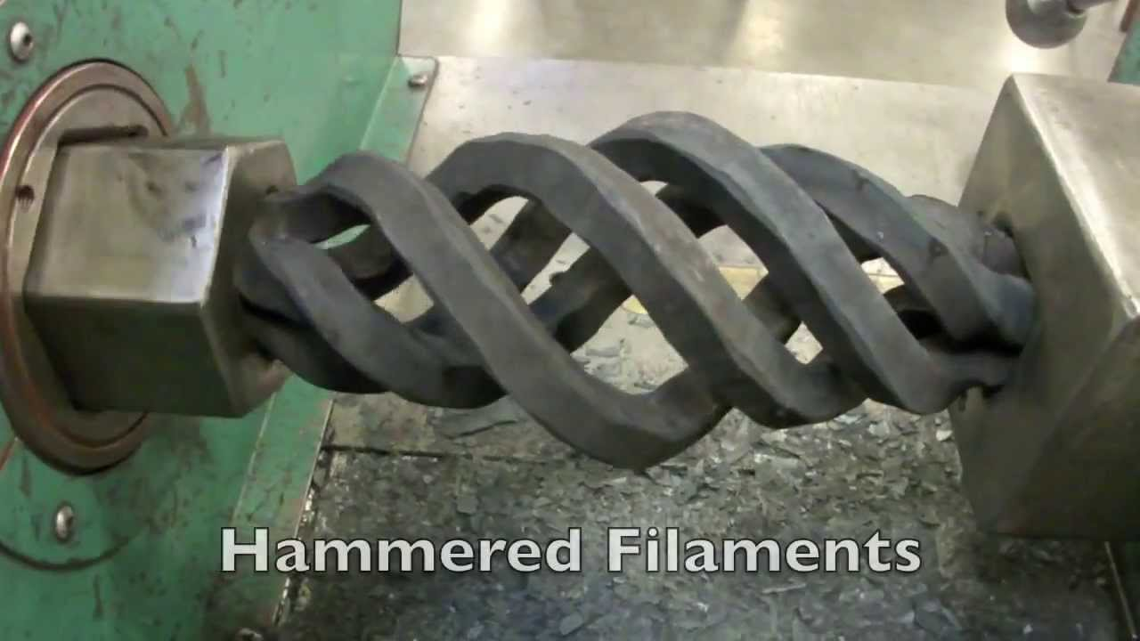These Machines Can Turn Iron Bars Into Silly Putty