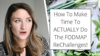 Re-Challenging FODMAPs: Three Top Tips To Actually Do It!