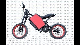Electro-Customs E-Kross Pozitiff MD — Мощный электрический велосипед с цепным приводом