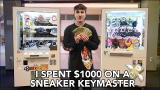 I Spent $1000 On The SNEAKER KEYMASTER.. This Is What Happened..