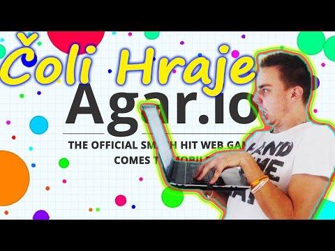 Skill in Agar.io!! Čoli Hraje!