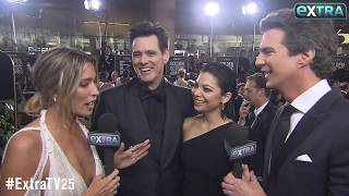 Jim Carrey & Ginger Gonzaga Are Dating — See Their Golden Globes Debut!